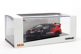 Tarmac Works 1/64 Honda Civic Type R FK2 Advan w/ Racing Wheels