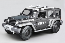 Maisto Jeep Rescue Concept Police SWAT
