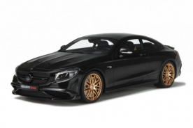 GT Spirit Mercedes-Benz S63 Coupe Brabus 850 Black