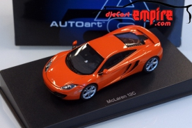 AUTOart 1/43 MCLAREN MP4-12C (METALLIC ORANGE)