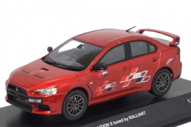Kyosho Mitsubishi Lancer Evolution X tuned by RALLIART Red Metallic