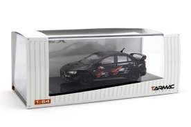Tarmac Works 1/64 Mitsubishi Evo X Ralliart Edition - Black