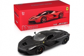 Bburago Signature Ferrari LaFerrari Matt Black