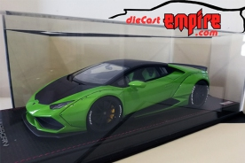 MR Collection Lamborghini Huracan Aftermarket LB Bicolor Verde Mantis Green / Nero Nemesis