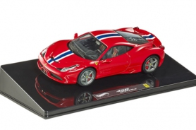 Hotwheels Elite 1/43 Ferrari 458 Speciale Red