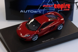 AUTOart 1/43 MCLAREN MP4-12C (VOLCANO RED)
