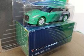 Tarmac Works x Greenlight 1/64 Nissan GT-R (R35) FALKEN Green Machine