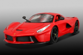 Bburago Race & Play Ferrari LaFerrari Red w/ black wheels