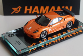 Autobarn 1/43 Ferrari F430 Hamann Orange