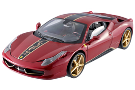 Hotwheels Elite Ferrari 458 Italia China Edition