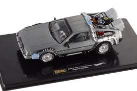 Hotwheels Elite 1/43 Back To The Future Time Machine