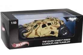 Hotwheels Heritage 'The Dark Knight Rises' Batmobile Camouflage Tumbler