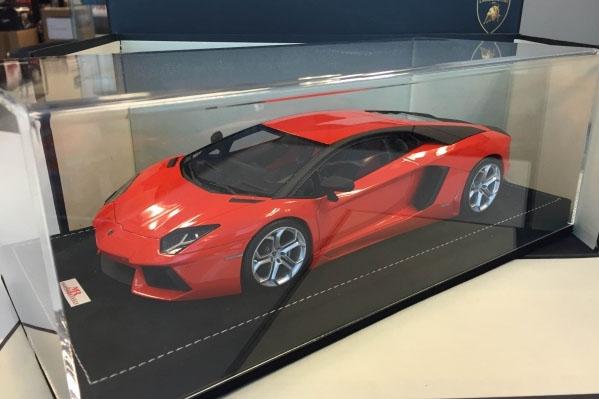 Mr Collection Lamborghini Aventador Lp700 4 Arancio Argos Orange