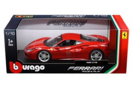 Bburago Race & Play Ferrari 488 GTB Red