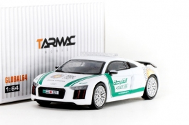 Tarmac Works Global 1/64 Audi R8 V10 Plus - Dubai Police