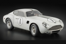 CMC Aston Martin DB4 GT Zagato Starting-No. 1, 24H France, 1961