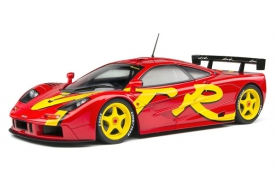 Solido McLaren F1 GTR Short Tail - Red - 1996