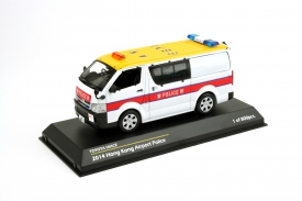 Tiny 1/43 Toyota Hiace Hong Kong Airport Police Car