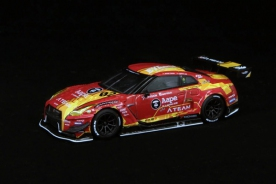 Pop Race x Mini GT 1/64 Nissan GT-R R35 Nismo GT3, X Works/EVA RT-Test Type-02