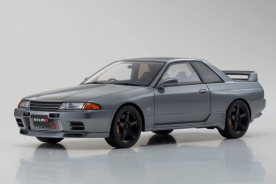 "Kyosho Samurai Nissan Skyline GT-R (R32 NISMO ""Grand Touring Car"") Gray"