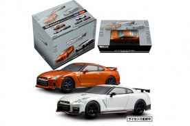 Kyosho 1/64 Nissan GT-R & Nissan GT-R Nismo Mini Car Collection (set of 6pcs)