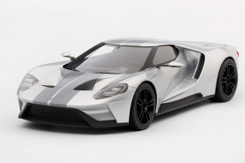 TSM Top Speed 1/18 Ford GT 2015 Chicago Auto Show Ingot Silver