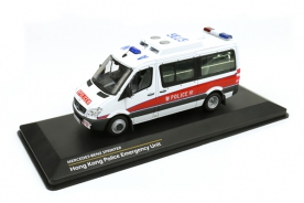 Tiny 1/43 Mercedes-Benz Sprinter Hong Kong Police Emergency Unit (EU)