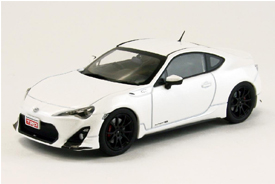Ebbro Toyota 86 TRD Performanace Line White