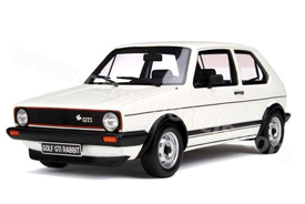 Otto Models Volkswagen Golf GTI Rabbit White
